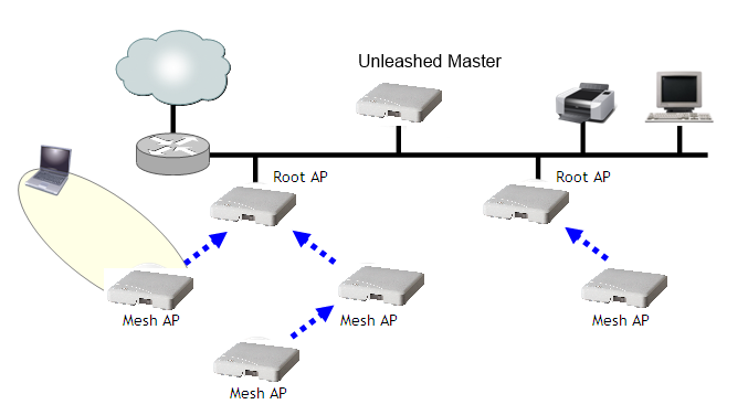 Supported Mesh Topologies
